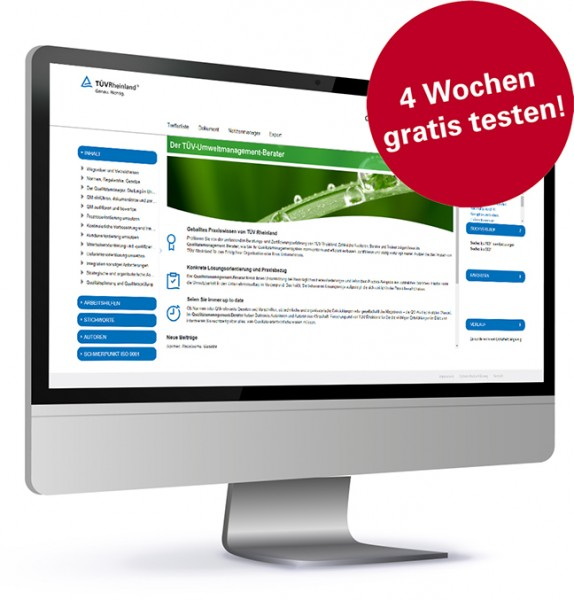 Der TÜV-Umweltmanagement-Berater digital