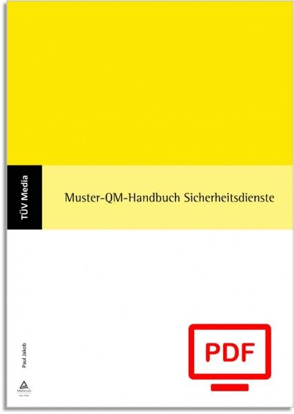 Muster-QM-Handbuch Sicherheitsdienste (E-Book)