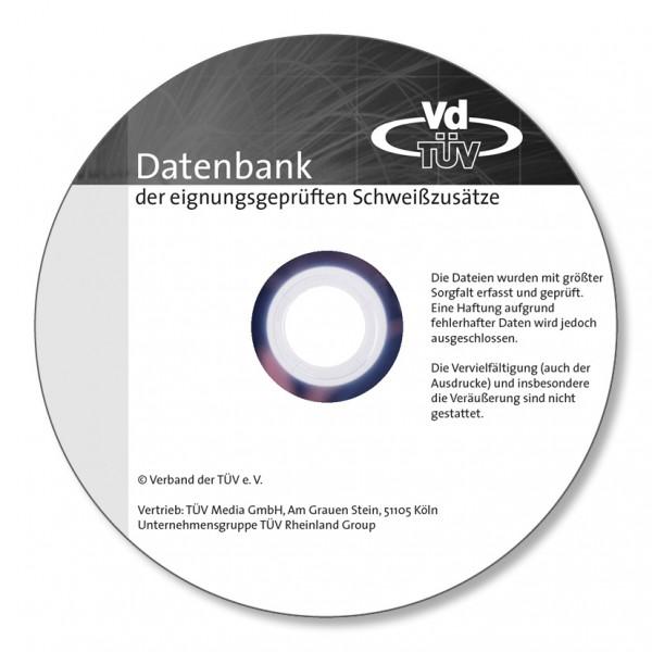 Datenbank der eignungsgeprüften Schweißzusätze (Onlineversion)