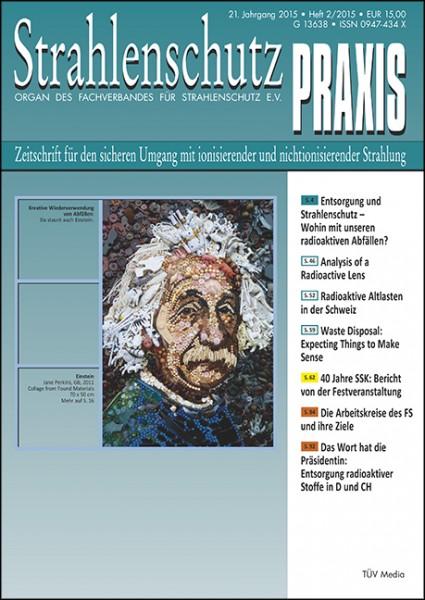 Zeitschrift für den sicheren Umgang mit ionisierender und nichtionisierender Strahlung