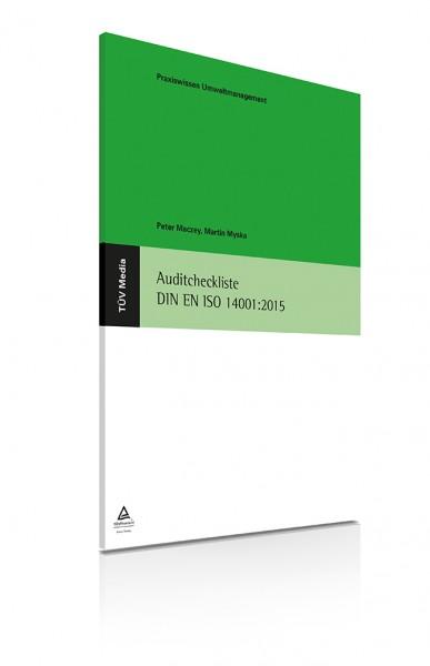 Auditcheckliste DIN EN ISO 14001:2015 (E-Book)