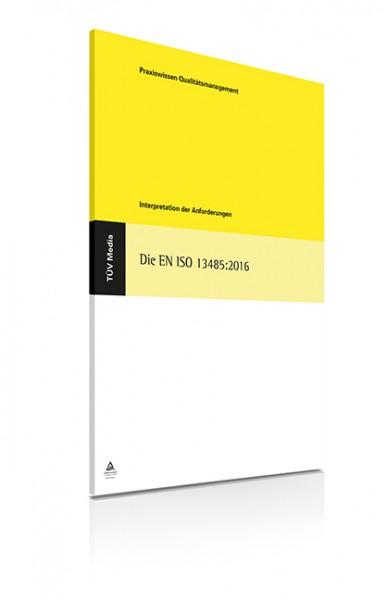 Die EN ISO 13485:2016 (E-Book)