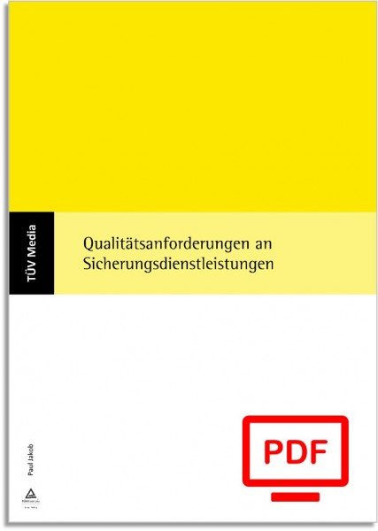 Qualitätsanforderungen an Sicherungsdienstleistungen (E-Book)